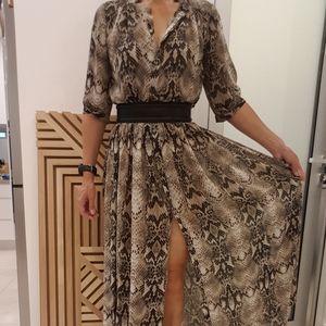 Witchery Snakeskin Dress